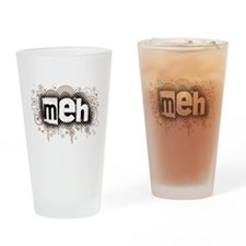 Meh Pint Glass