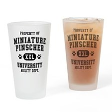 Property of Miniature Pinsch Pint Glass