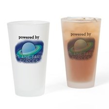 Powered By Planetary Forces Pint Glass