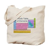 Table of Elements Tote Bag
