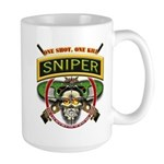 Sniper One Shot-One Kill Large Mug