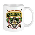 Sniper One Shot-One Kill Mug