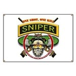 Sniper One Shot-One Kill Banner