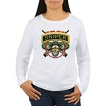 Sniper One Shot-One Kill Women's Long Sleeve T-Shi