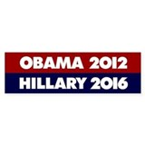 Hillary 2016 Bumper Sticker