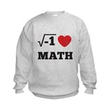 I Heart Math 1 Sweatshirt