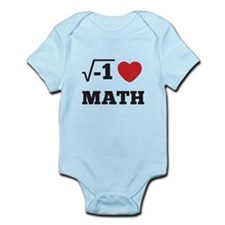 I Heart Math 1 Infant Bodysuit