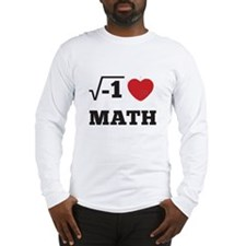 I Heart Math 1 Long Sleeve T-Shirt
