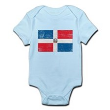 Dominican Republic Flag Infant Bodysuit