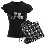 Love Gay Son Women's Dark Pajamas