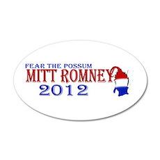 Mitt Romney 2012 22x14 Oval Wall Peel