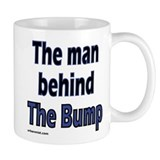 the man behind the bump Small Mug