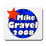 Mike Gravel for President Mousepad