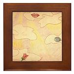 Senses Framed Tile