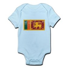 Sri Lanka Flag Infant Bodysuit