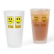 Hoo-Ray For Bacon Pint Glass
