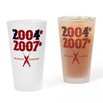 Manny Cheated Pint Glass