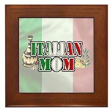 """""""Italian Mom"""" Framed Tile"""