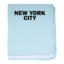 NEW YORK CITY V baby blanket