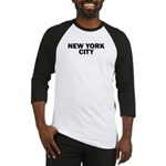 NEW YORK CITY V Baseball Jersey