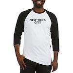 NEW YORK CITY V Baseball Jersey