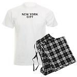 NEW YORK CITY V Men's Light Pajamas