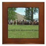 Cute Great basin Framed Tile