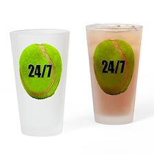 24/7 Tennis Pint Glass