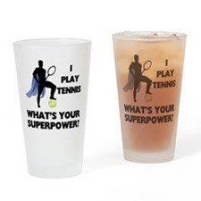 Tennis Superpower Pint Glass