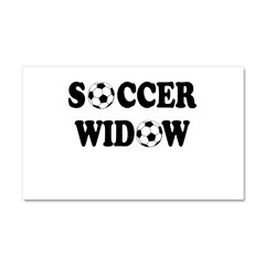 Soccer Widow Car Magnet 12 x 20