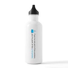 Precipitate Sports Water Bottle