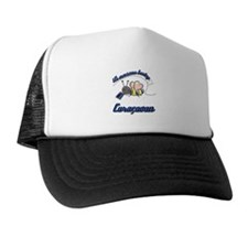 Awesome Being Curacaoan Trucker Hat