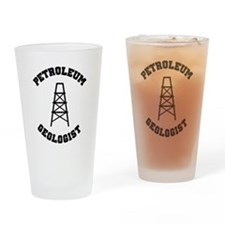 Petroleum Geologist Pint Glass