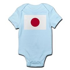 Japanese Sun Disc Flag Infant Bodysuit