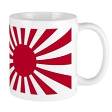 Japanese Rising Sun Flag Mug