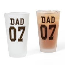 Stencil Dad 07 Pint Glass