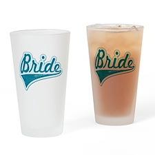 Blue Vintage Bride Pint Glass