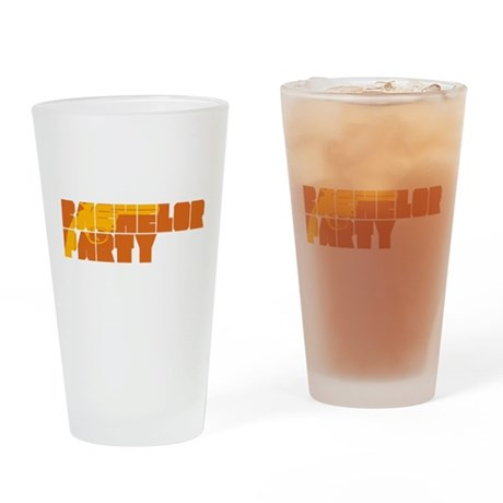 Mafia Bachelor Party Pint Glass