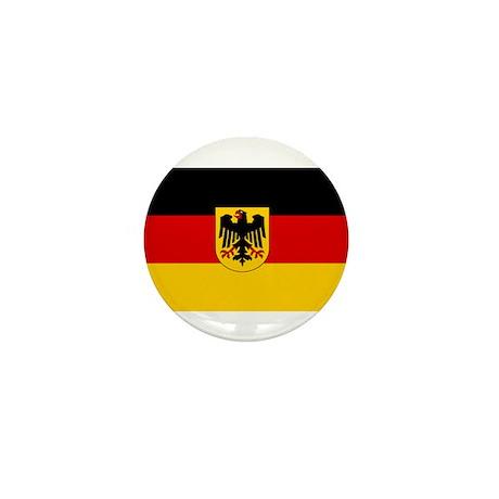 German Government Flag Mini Button