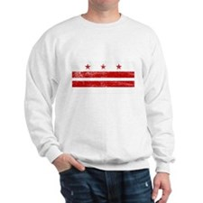 Washington DC Flag Sweatshirt
