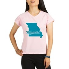 State Missouri Women's double dry short sleeve mes