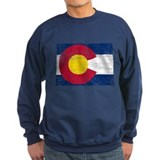Colorado Flag Map Sweater