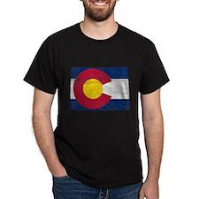 Colorado Flag Map T-Shirt