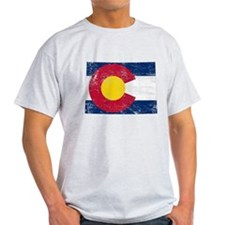 Colorado Flag Map T-Shirt