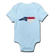 North Carolina Flag Infant Bodysuit