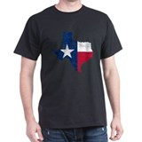 Texas Flag Map T-Shirt
