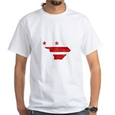 Washington DC Flag Map Shirt