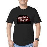 Men's Cofiwch Blwton Fitted T-Shirt (dark)