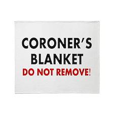 Funeral Director/Mortician Throw Blanket