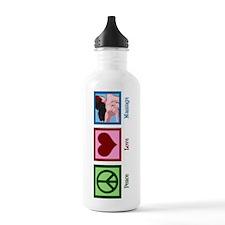 Peace Love Massage Water Bottle